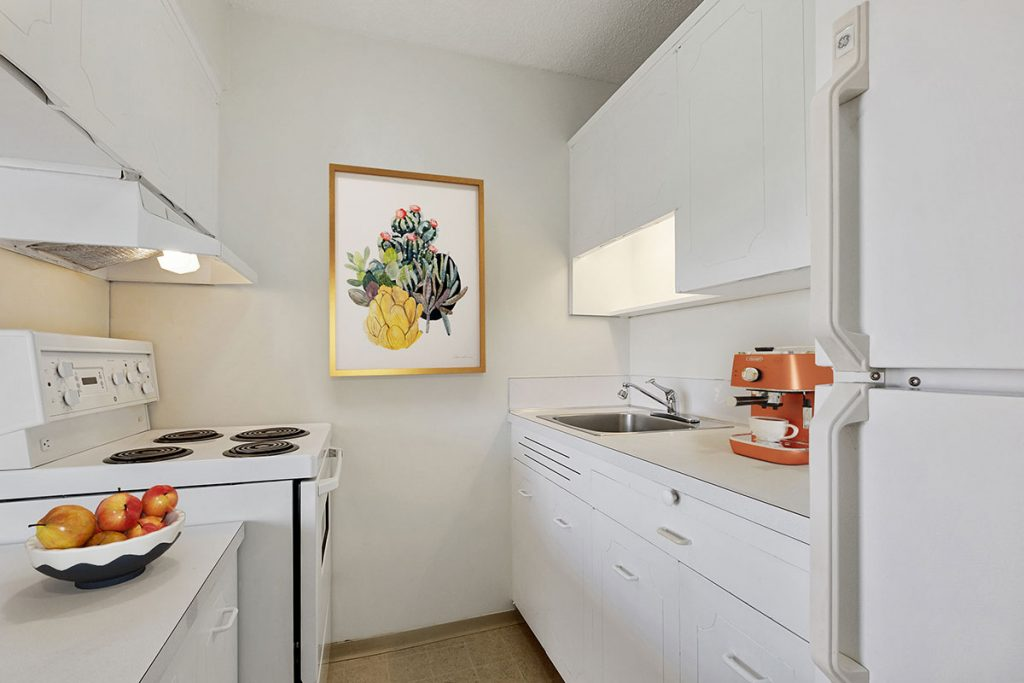 Kitchen at Pacific Sands Apartments Vancouver BC